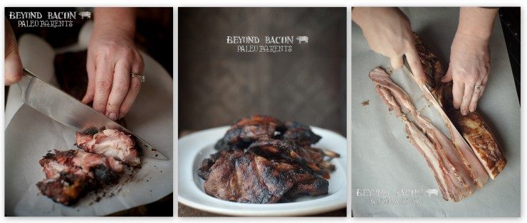 beyond bacon collage