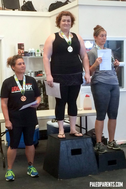Stacy wins Gold at CG and earns invite to Nationals at PaleoParents
