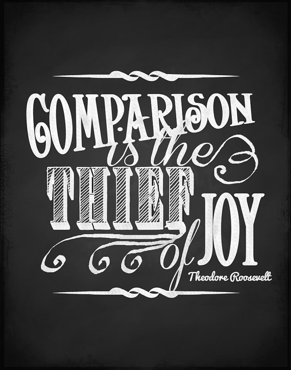 Comparison is the Theif of Joy on PaleoParents