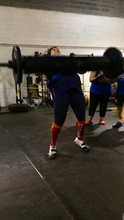 Stacy does Strongman Summer Showdown Event 1 on PaleoParents