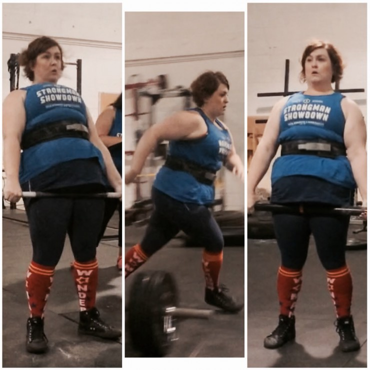 Stacy does Strongman Summer Showdown Event 2 on PaleoParents
