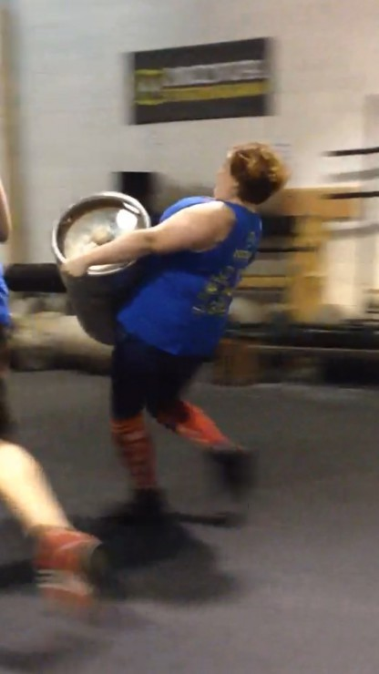 Stacy does Strongman Summer Showdown Event 3 on PaleoParents