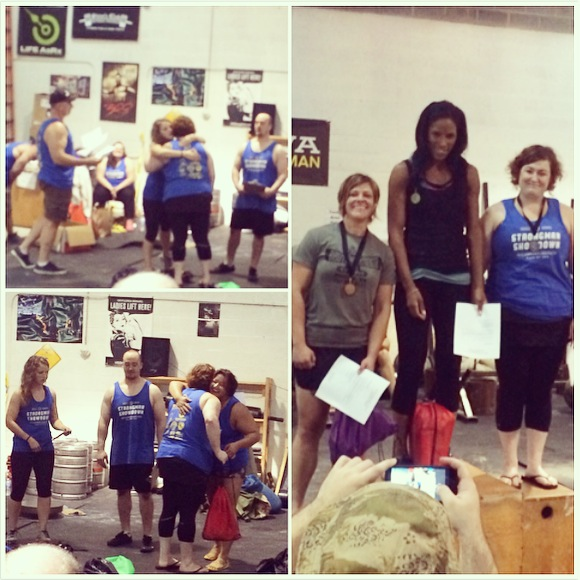 Stacy places in Strongman Summer Showdown on PaleoParents