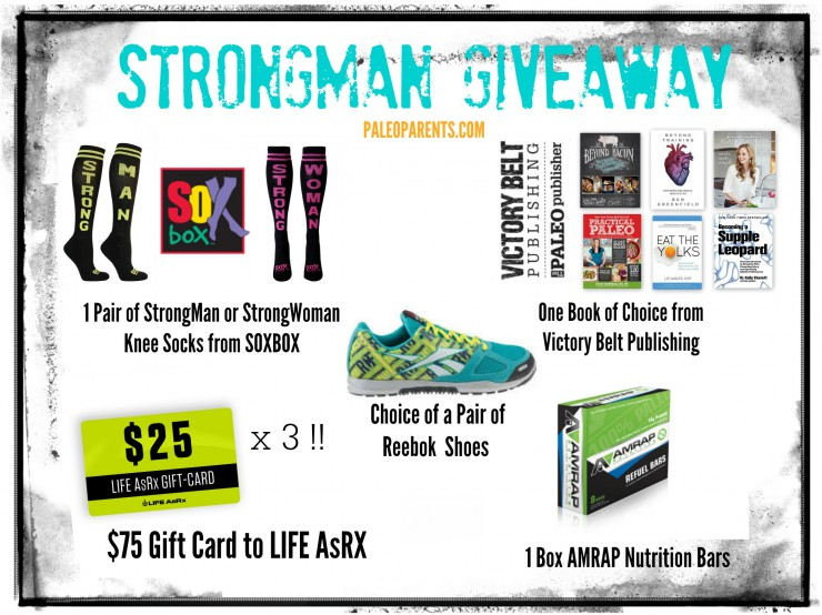 Strongman Giveaway on PaleoParents