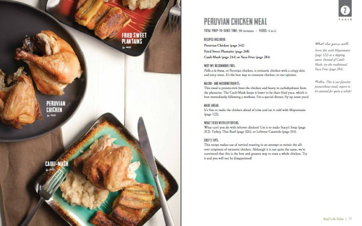 Phase 2 Peruvian Chicken Lunch from Real Life Paleo by Paleo Parents
