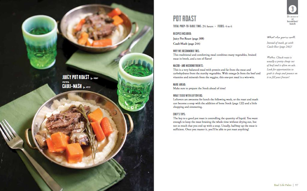 Phase 3 Juicy Pot Roast Dinner from Real Life Paleo by Paleo Parents