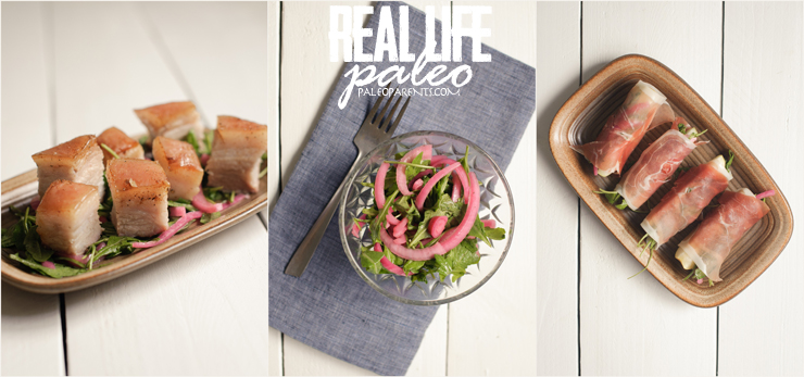 Pork Belly and Prosciutto Bites from Real Life Paleo by Paleo Parents