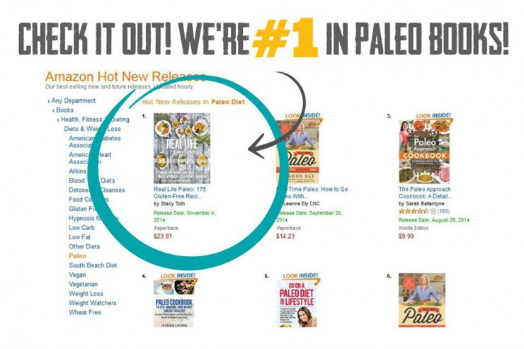 number one in paleo books