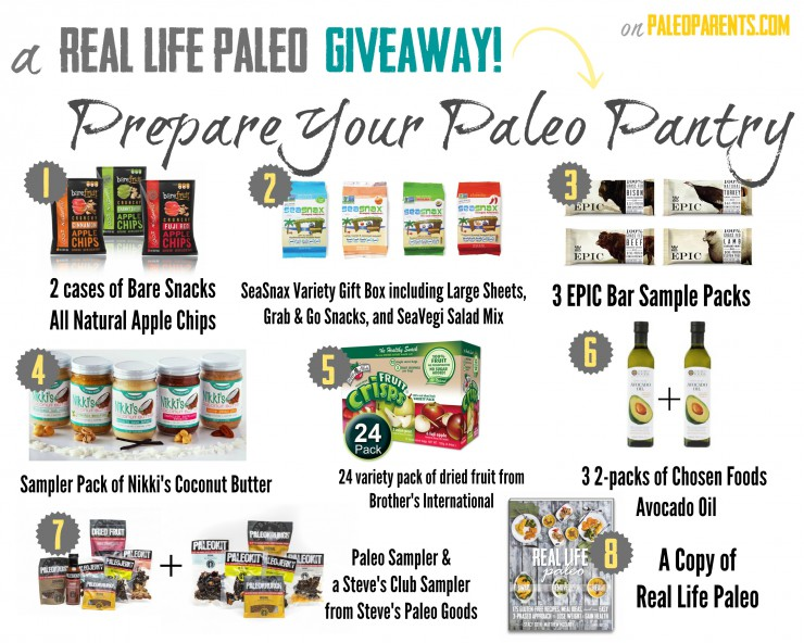 A Real Life Paleo Giveaway - Prepare Your Paleo Pantry