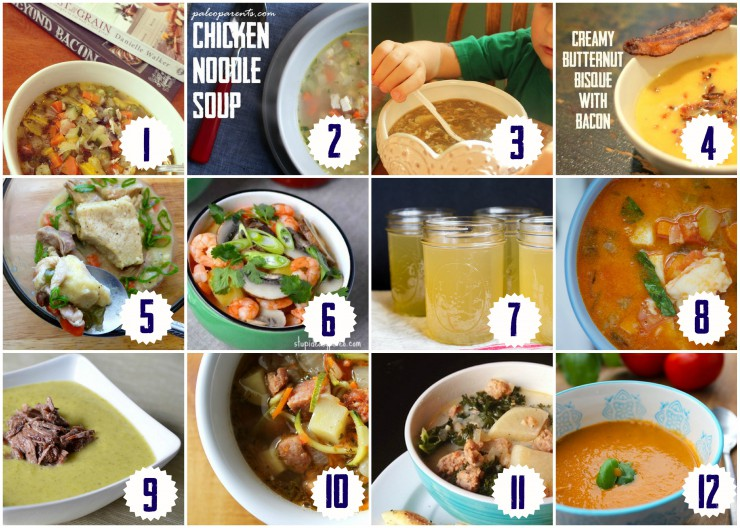 Healing Soup Recipe Round Up on Paleo Parents