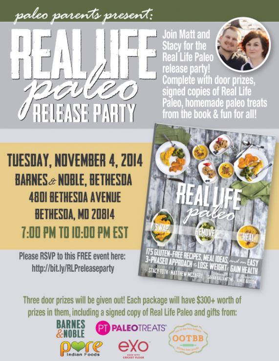 Real Life Paleo Release Party by Paleo Parents