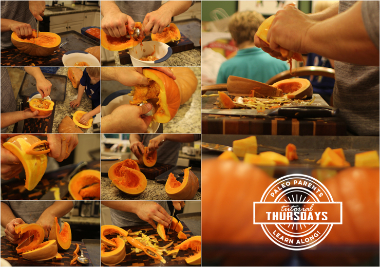 Step 2 Pumpkins on Tutorial Thursday by PaleoParents