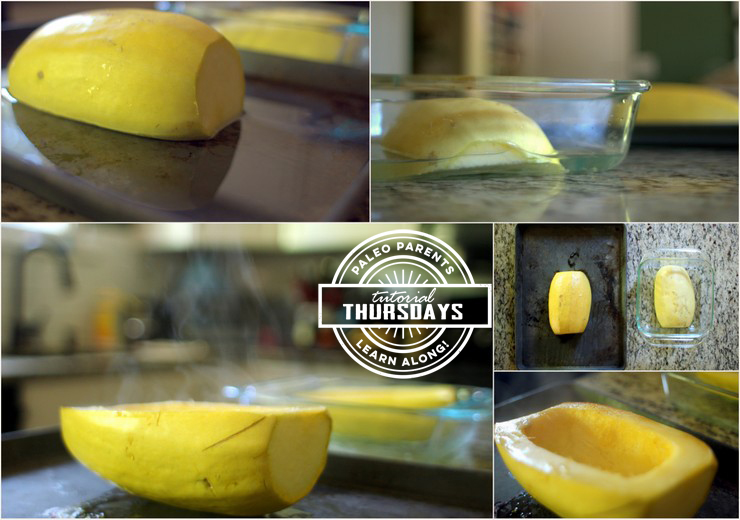 Tutorial Spaghetti Squash Step 3 by Paleo Parents