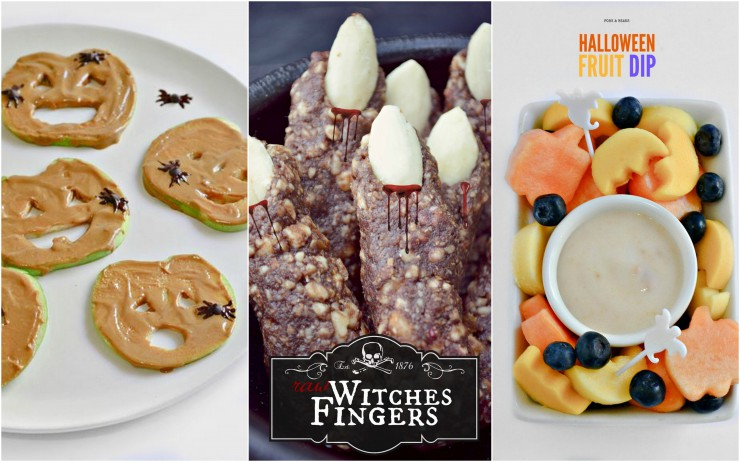 Halloween Ideas from Fork and Beans featured on PaleoParents