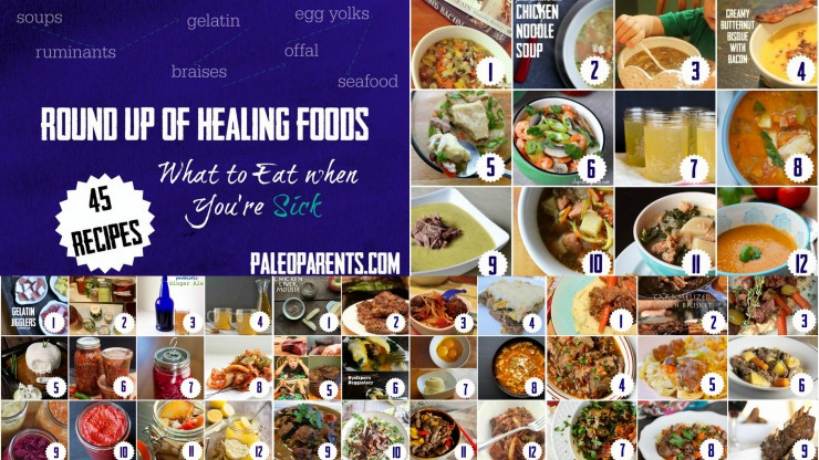 50 Recipes for What to Eat When You're Sick on PaleoParents
