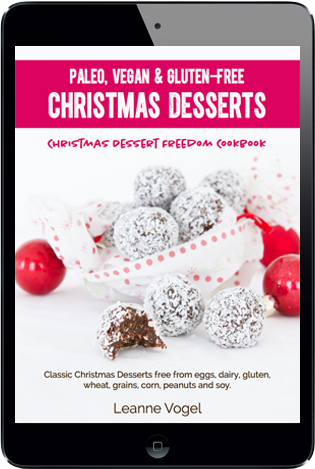 Christmas Dessert Freedom Cookbook
