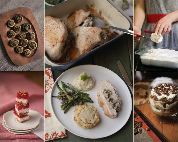 Paleo Holiday Menu (Thanksgiving) from Real Life Paleo by Paleo Parents