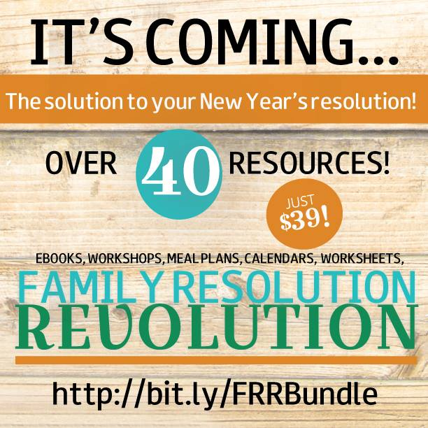 The family resolution revolution its coming