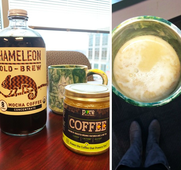 instagram chameleon cold brew pure indian foods coffee ghee