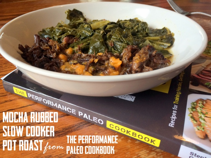Slow Cooker Mocha Pot Roast from Performance Paleo Cookbook by Paleo Parents