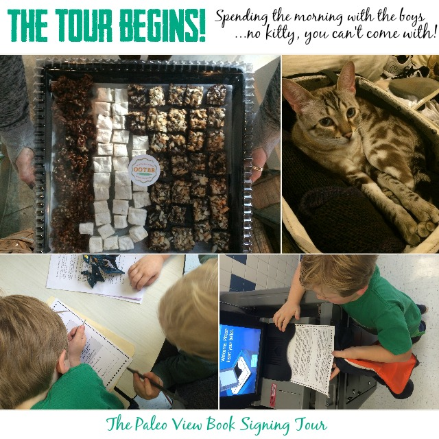 TPV Book Tour Begins with Paleo Parents Collage