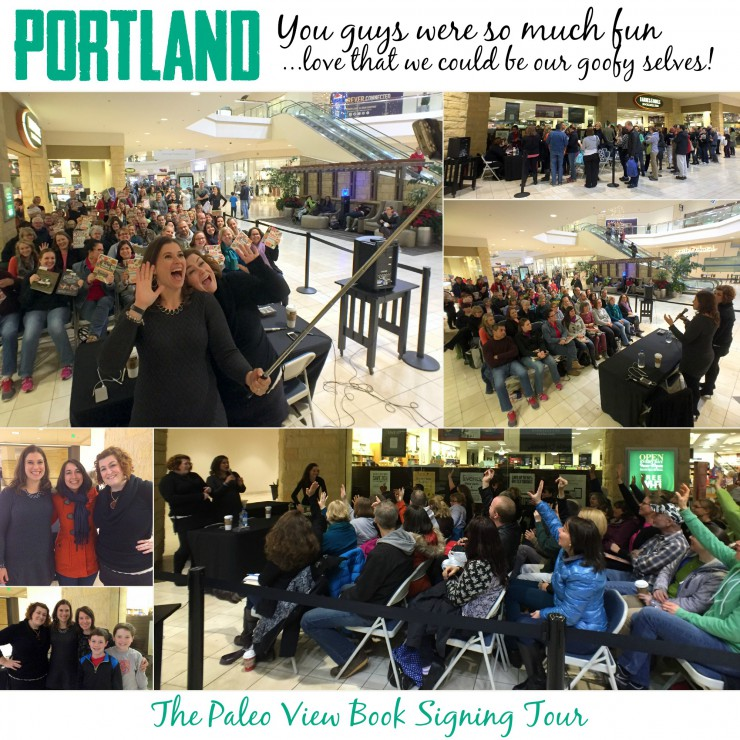 TPV Book Tour Portland, OR with Paleo Parents Collage