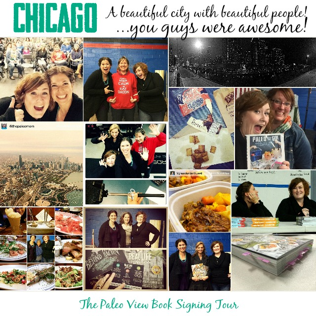 TPV Book Tour in Chicago, IL with Paleo Parents Collage