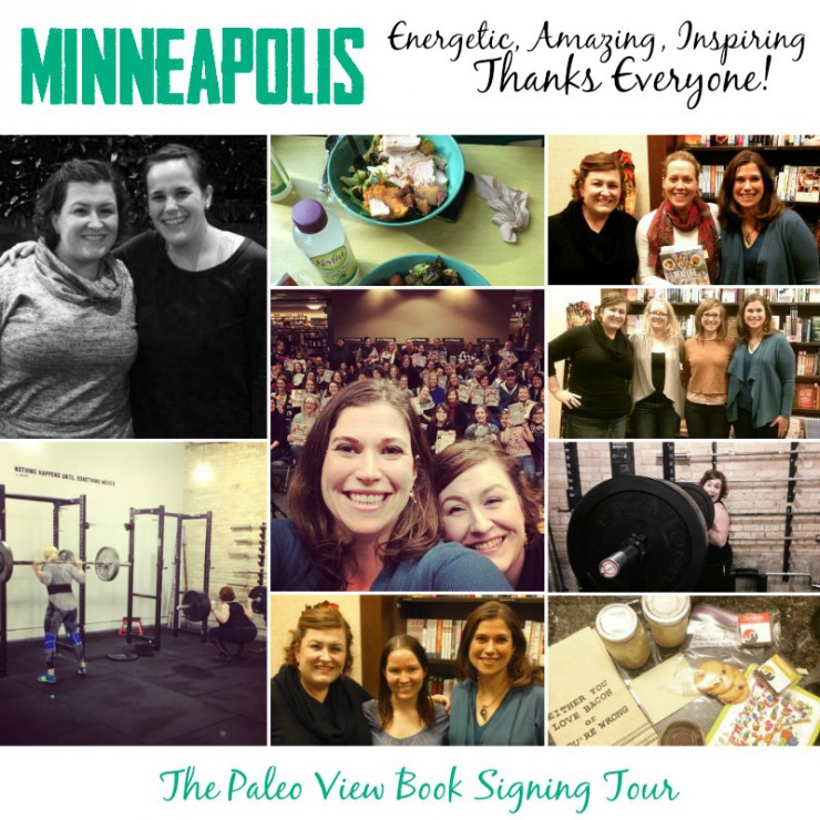 TPV Book Tour in Minneapolis with the Paleo Parents