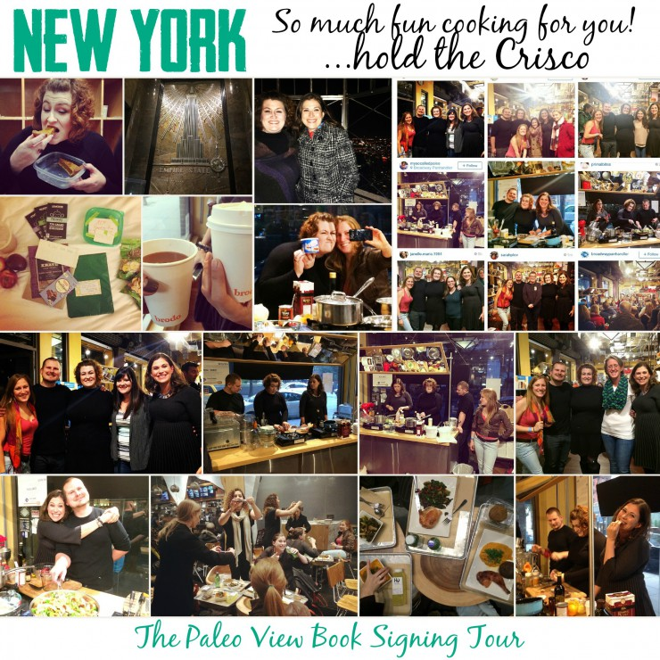 TPV Book Tour in New York NY with Paleo Parents Collage