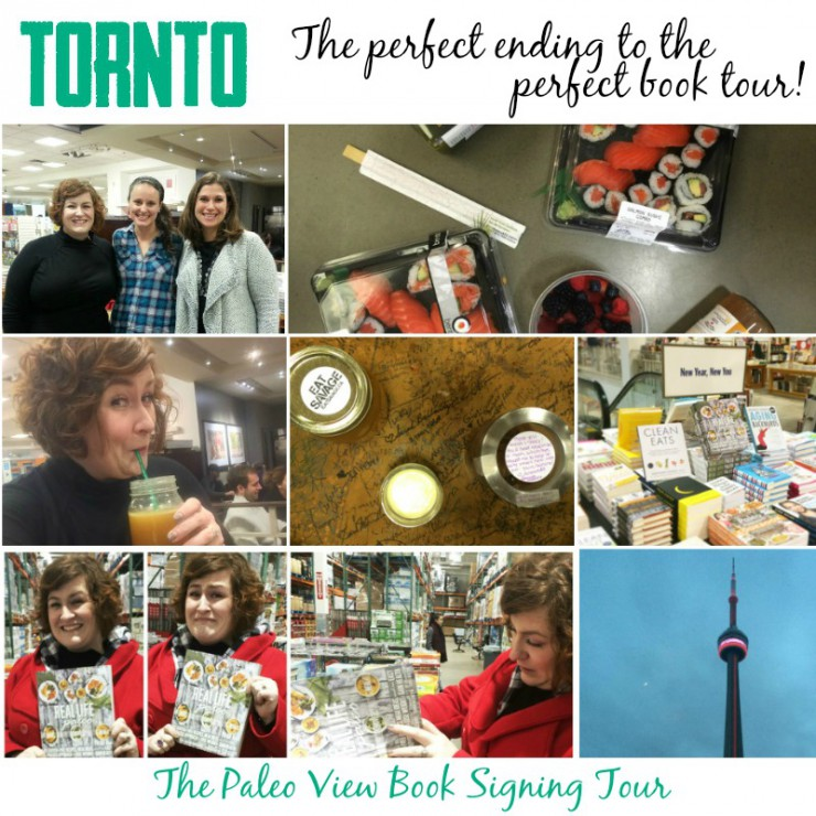 TPV Book Tour in Toronto with the Paleo Parents