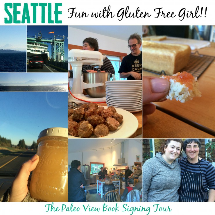 TPV Book Tour with Gluten Free Girl in Seattle with Paleo Parents Collage