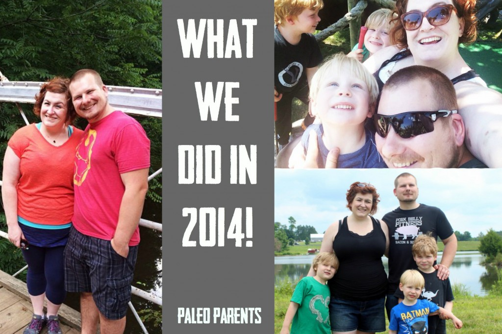 A Look Back at 2014 by the Paleo Parents
