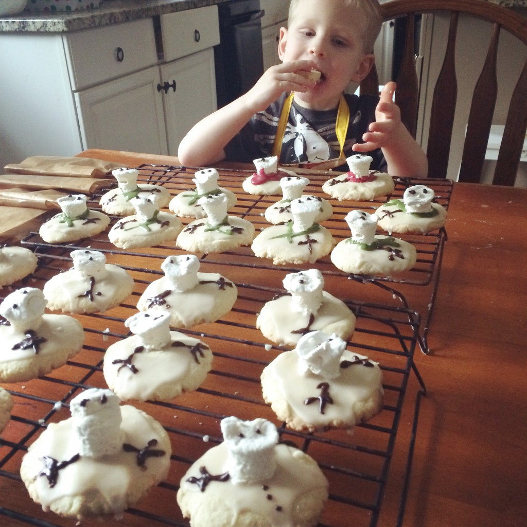 Wes the Cookie Monster, Paleo Parents