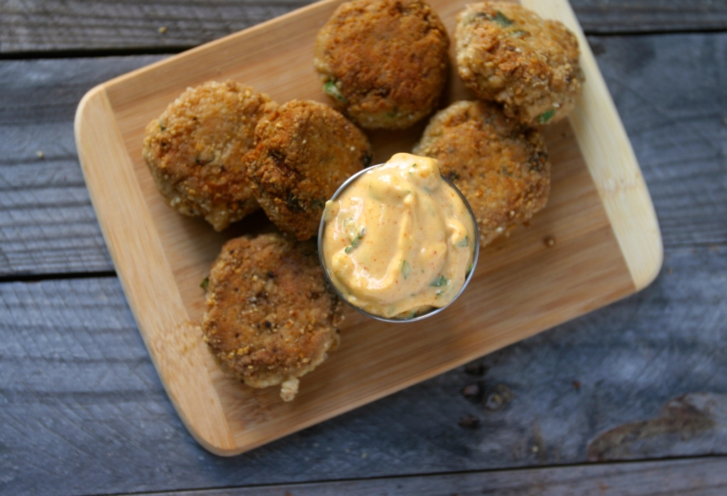 Crispy Crab Bites by Primal Bites, as seen on The Cheesecake Factory Recipe Recreation Round-Up by the Paleo Parents