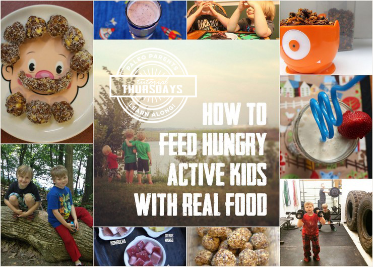 How to Feed Hungry Kids on PaleoParents