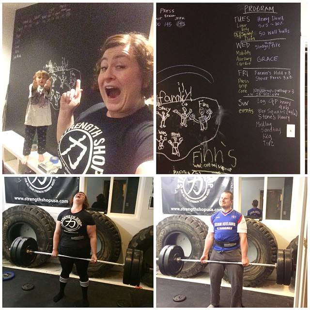 House of Gainz Chalkboard wall, Paleo Parents Weekend Wrap Up 3/1: We're BINGING On WHAT?! Plus Travel PROTEIN IDEAS & FLAVORFUL Recipe Favorites!