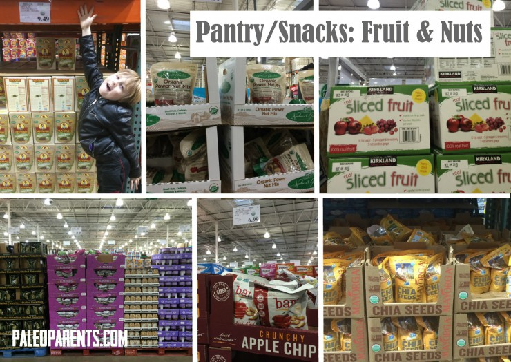 Costco Collage Pantry Fruit Nuts