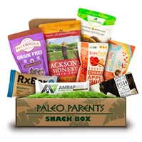 Paleo Parents Box at One Stop Paleo Shop:  Snack Must Haves