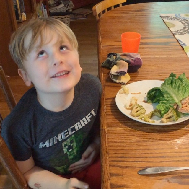 Getting kids to try new foods. Paleo Parents Weekend Wrap Up 5.24: Finn Ate The WORST Foods In The World!