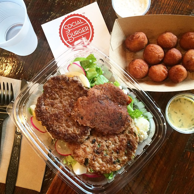 Social burger tots. Paleo Parents Weekend Wrap Up 5.24: Finn Ate The WORST Foods In The World!