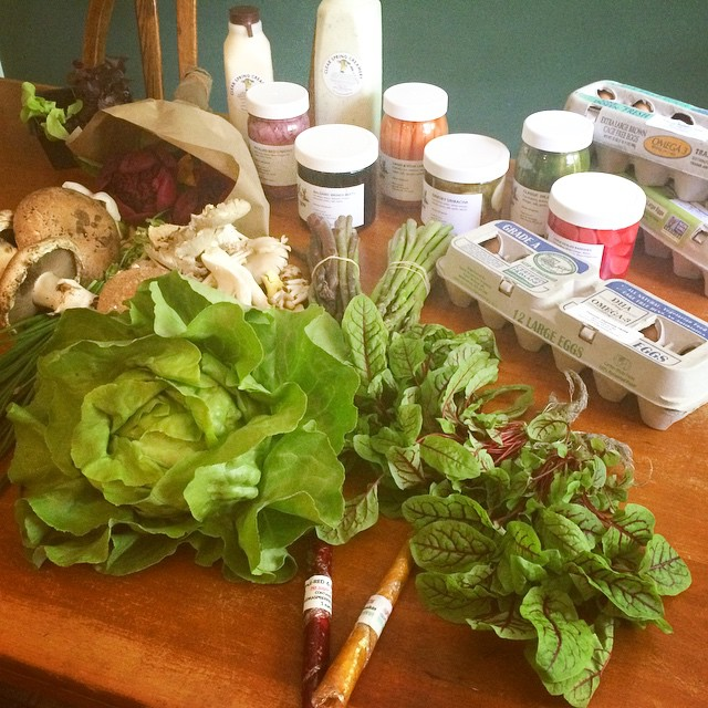 Virginia farmer's market haul. Paleo Parents Weekend Wrap Up 5.24: Finn Ate The WORST Foods In The World!