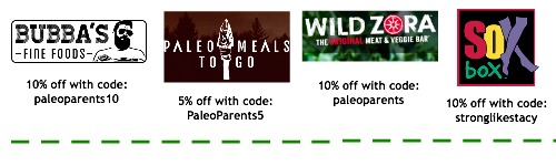 Discounts coupons nl bottom 5.16. Paleo Parents Weekend Wrap Up 5.24: Finn Ate The WORST Foods In The World!