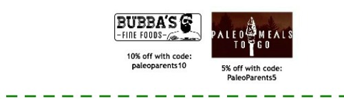 Discounts coupons nl bottom Paleo Parents Weekend Wrap Up 6.7: No Bake Treats And No Cook Eats For Warm Summer Days!