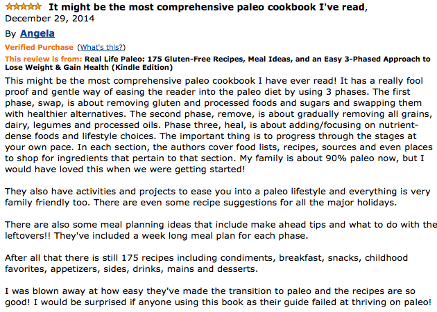 Real Life Paleo Amazon review, Kitchen Tool Superlatives: Paleo Parents Weekend Wrap Up 7.26