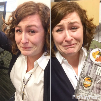 Stacy crying, Essential Kitchen Tool Superlatives: Paleo Parents Weekend Wrap Up 7.26