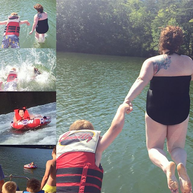 Stacy cliff jumping, Paleo Parents Weekend Wrap Up: Are S'mores Paleo?!