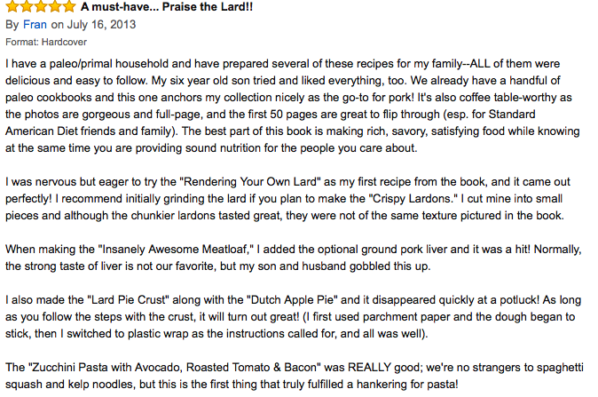 Beyond Bacon Amazon Review, Protein Ideas for the Whole Family! : Paleo Parents Weekend Wrap Up