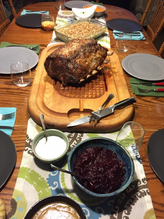 Paleo Parents Friendsgiving and Thanksgiving Menu 2015
