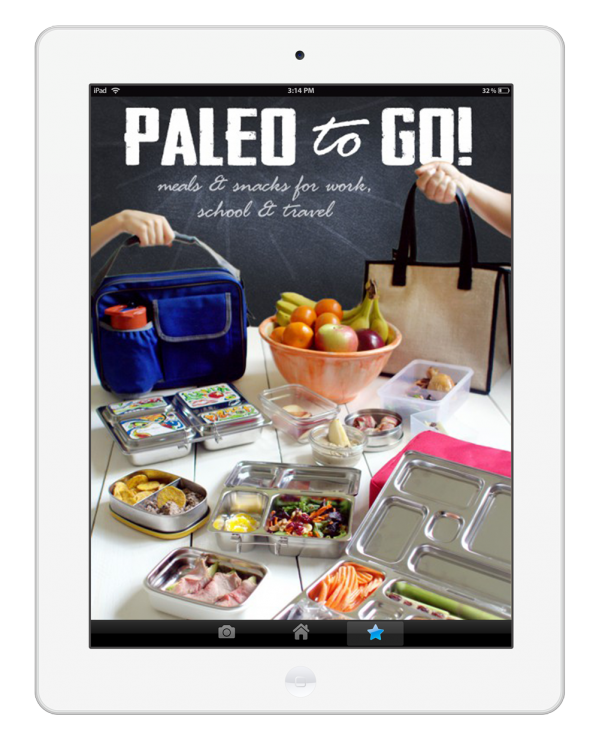 Paleo 2 go ebook cover:  Make an INCREDIBLE Paleo Holiday Dinner! Paleo Parents