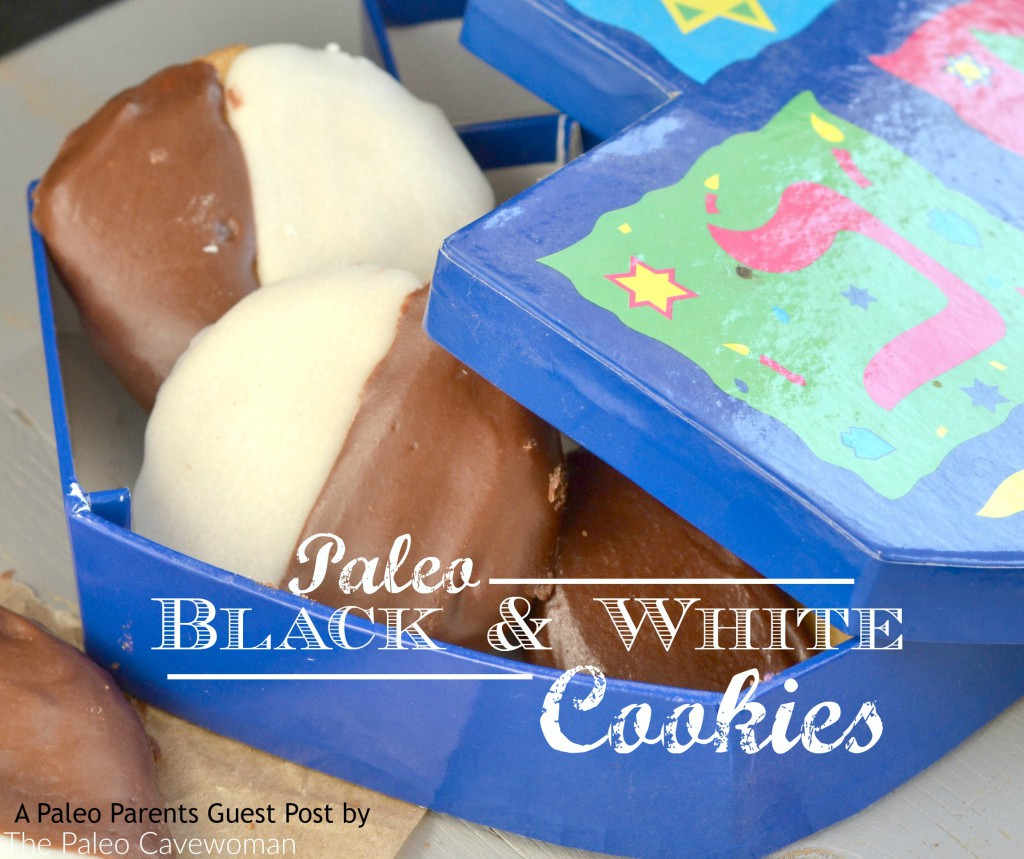 Paleo Parents Guest Post: Paleo Black and White Cookies, The Paleo Cavewoman